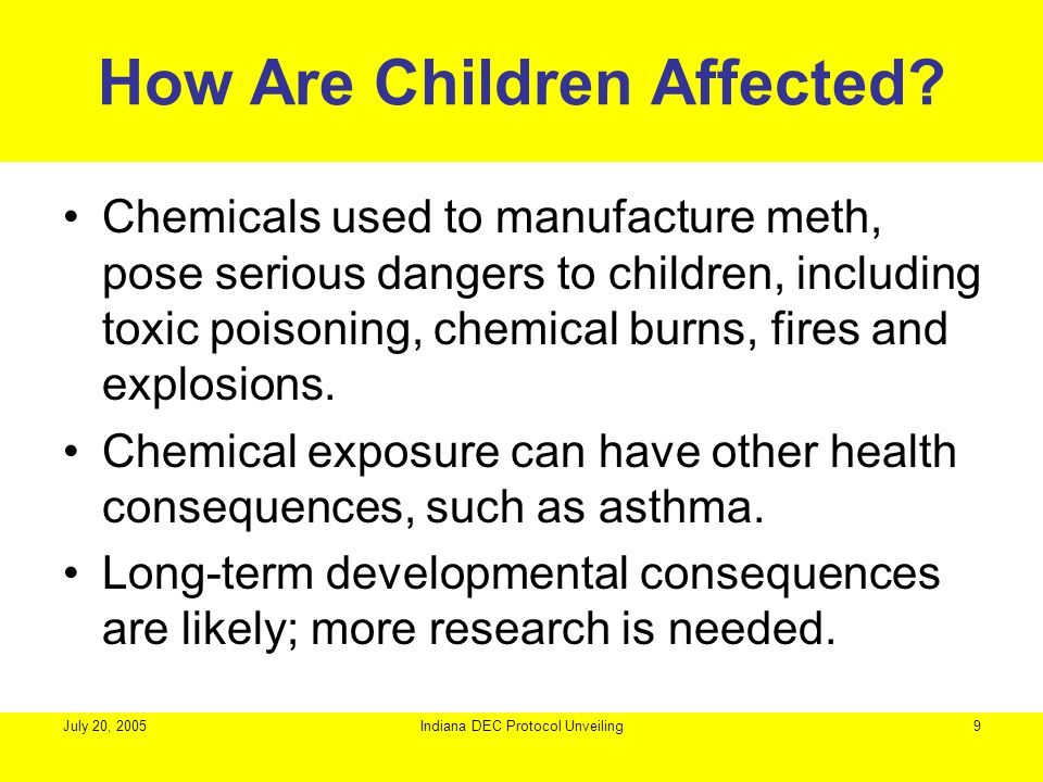 How Are Children Affected