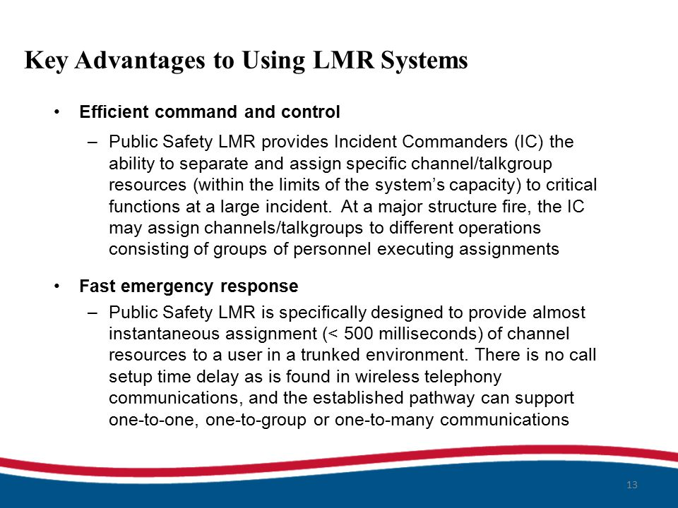 lmr assignment The migration audio interface box (maib), when installed in the service vehicle, allows to control up to three analogue and digital radio devices with just one audio accessory, for example a handset this solution saves space inside the vehicle and optimises operability during the assignment.