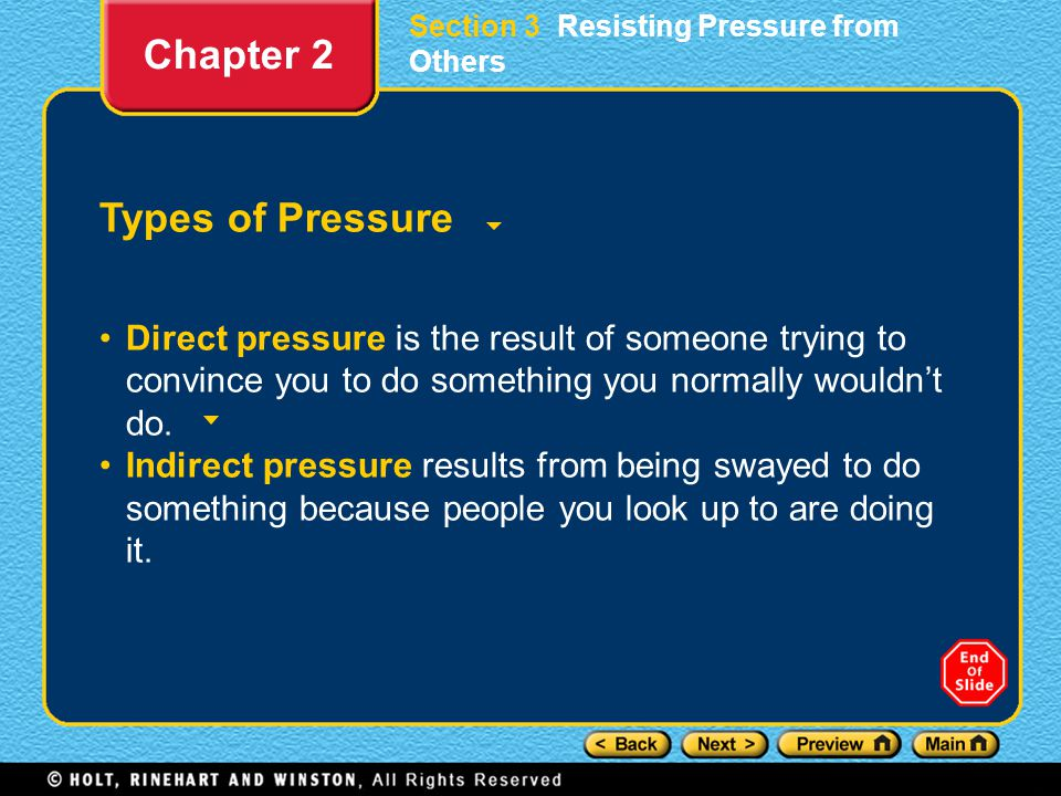 Chapter 2 Types of Pressure