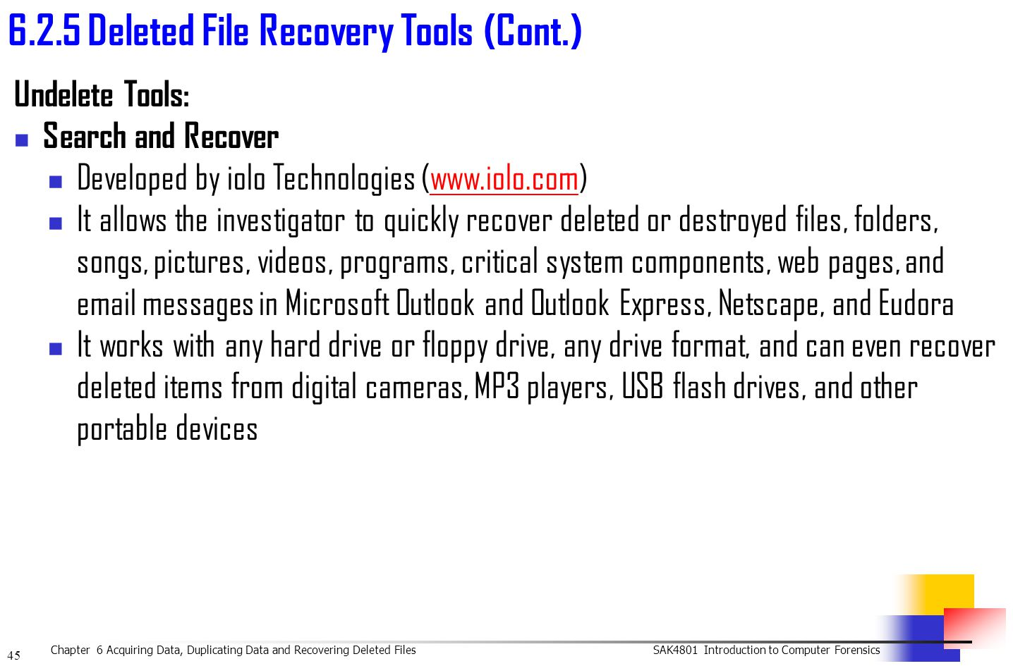 Iolo search and recover 2 3 user pack