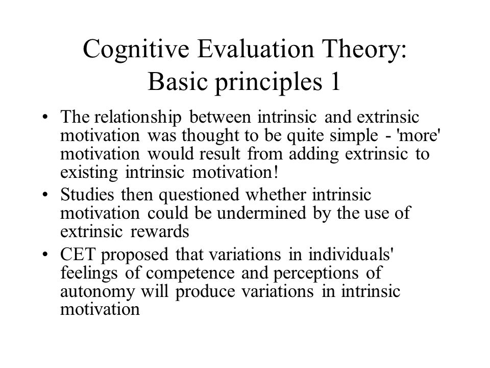 cognitive appraisal mediates the relationship between theory