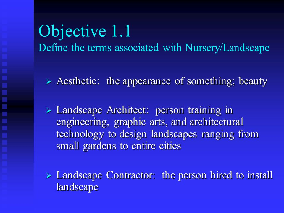 Introduction to Nursery Landscape Industry ppt download – Landscape Architect Training