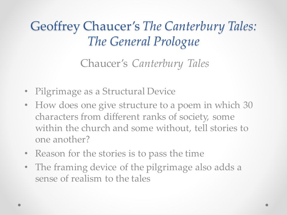 an analysis of the use of some of the characters in the canterbury tales Imagery in the canterbury tales: examples & meaning  as well as a few  examples from ''the canterbury tales'' by geoffrey chaucer  character  descriptions  this example shows that imagery can appeal to any of the five  senses and.