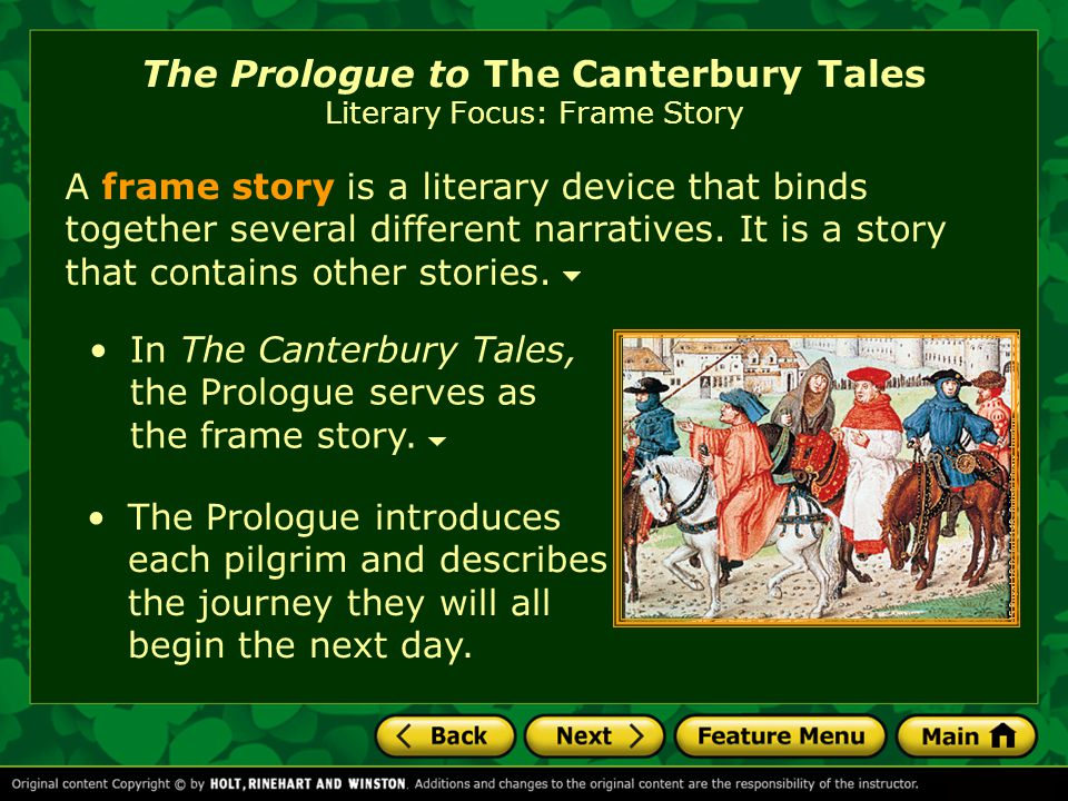 the story of the twenty nine pilgrims in geoffrey chaucers canterbury tales The prologue from the canterbury tales  geoffrey chaucer made an enormous  some nine and twenty in a company.