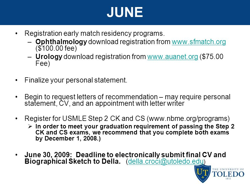 match date for residency 2015