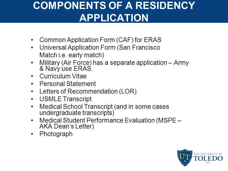 dean s letter of recommendation for residency