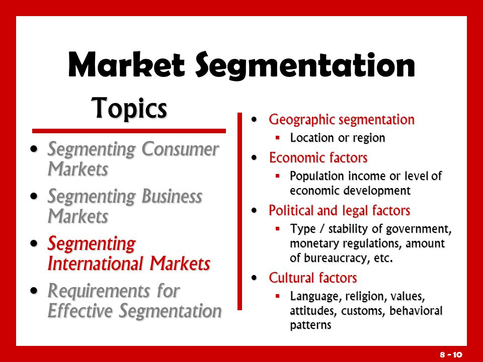 the consumer market segment and target market marketing essay 1- what is the target market for this marketing plan  1- what is their target market 2- do they segment if so,  2-what consumer product classes are offered.