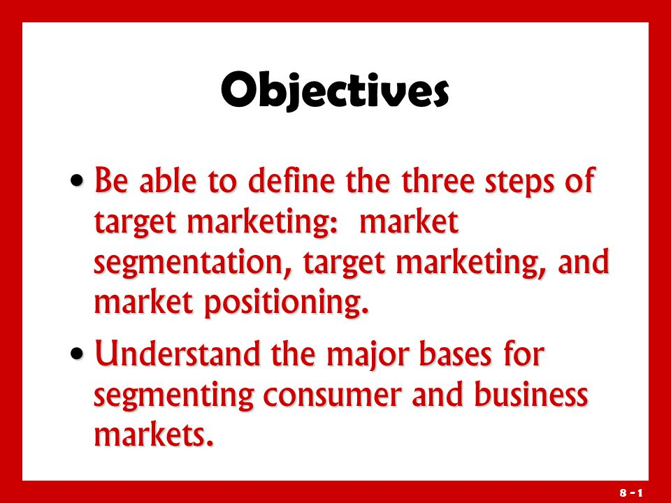 how companies identify attractive market segments essay Market analysis summary  large corporations: one of our most important  market segment is the large  and bonds will offer an attractive development  alternative to the company that is  they are often seeking for prior research to  be done to identify possible markets that are suited to their resources and  capabilities.