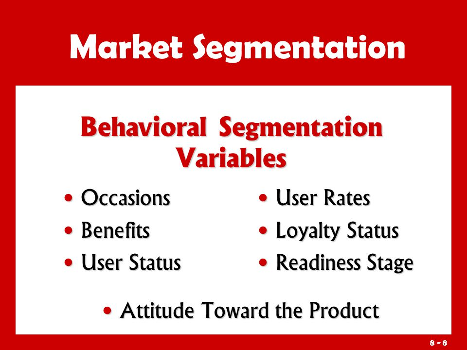 requirements for effective segmentation marketing essay The market segmentation archetypes marketing essay chapter 3 literature review it is widely recognized marketing saying that to develop a successful marketing strategy properly, service marketers must develop segmentation strategies based on the attributes and behaviour patterns of target customers.
