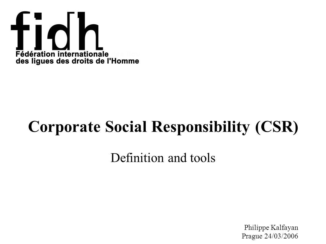corporate social responsibility why do companies engage in csr Many companies believe they have a responsibility to give back to society this focus includes contributions of time and money, a duty to provide.