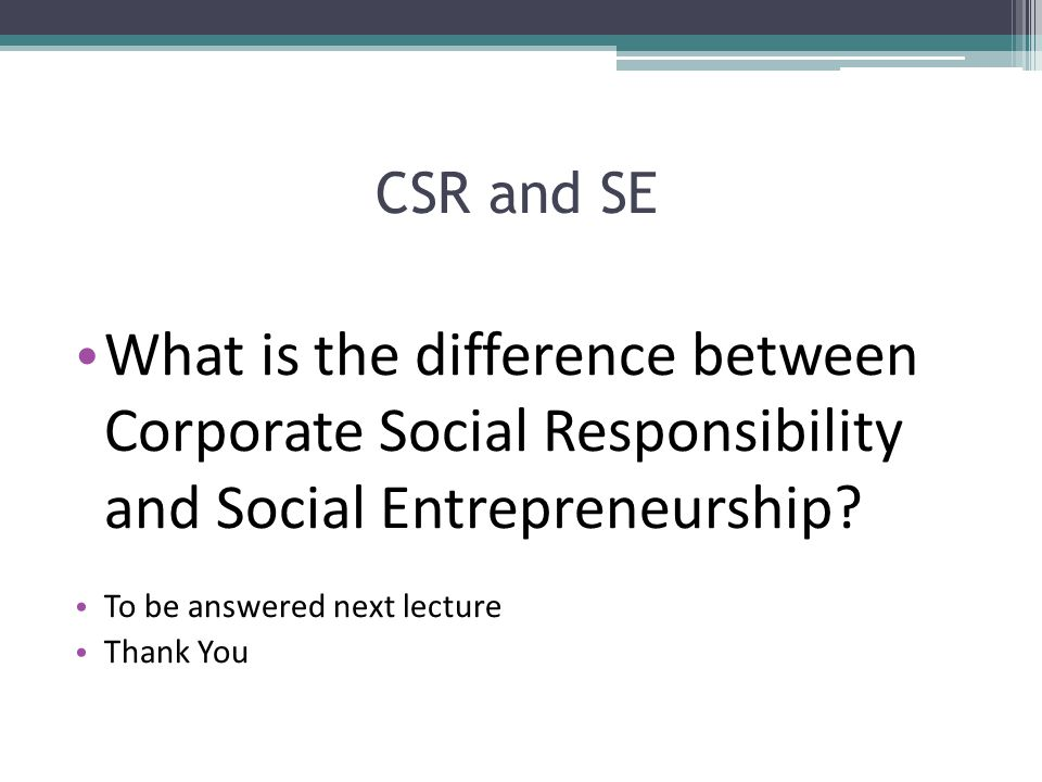 compare and contrast the social responsibility When putting onto paper a compare & contrast essay about corporate social responsibility,  comparison/contrast  you may have to compare/contrast a.