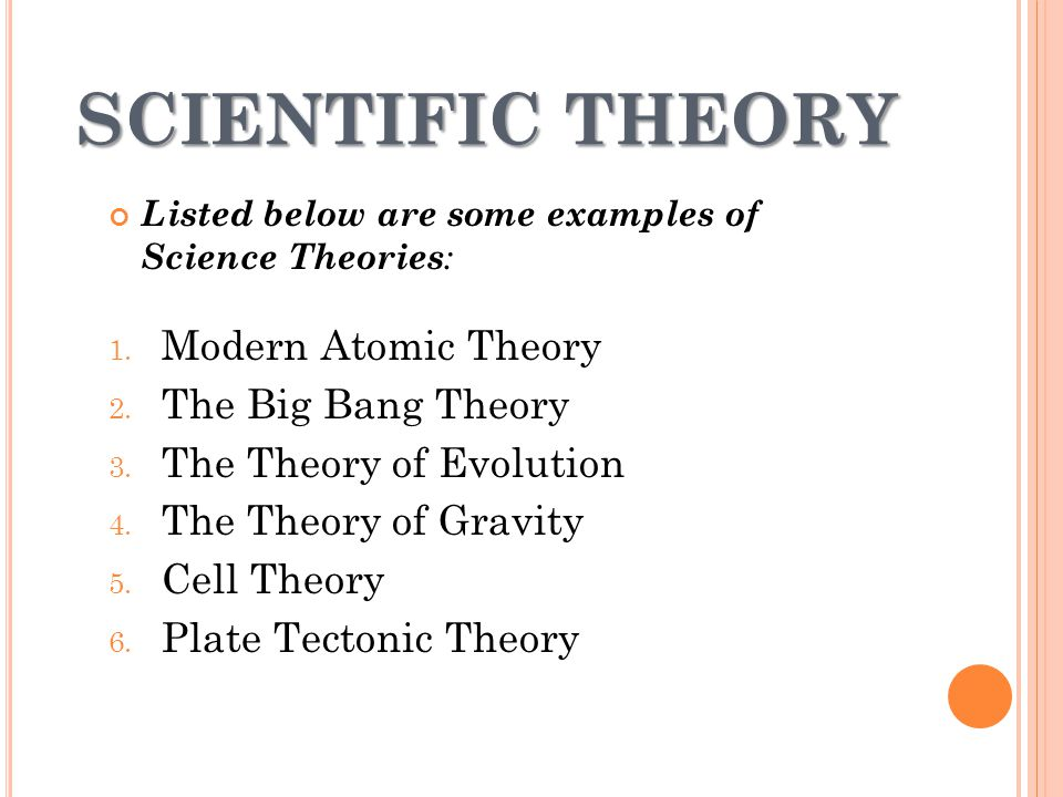 The Role Of Theories Laws Hypotheses And Models Ppt Video