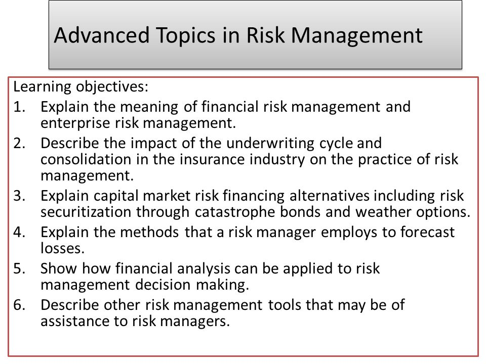 advanced topics in managemnet management of Crisis management is the process by which an organization deals with a disruptive and a free collection of 600+ articles on crisis management-related topics.