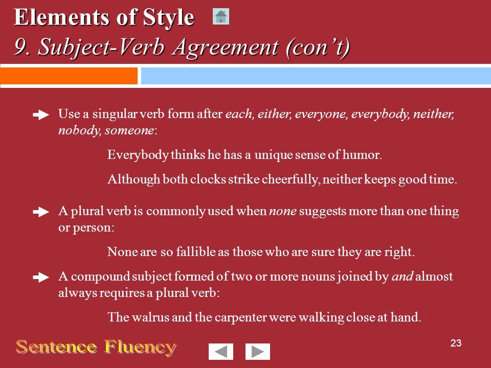 T U T O R I A L Elements of Style Crews  WMC  ppt download