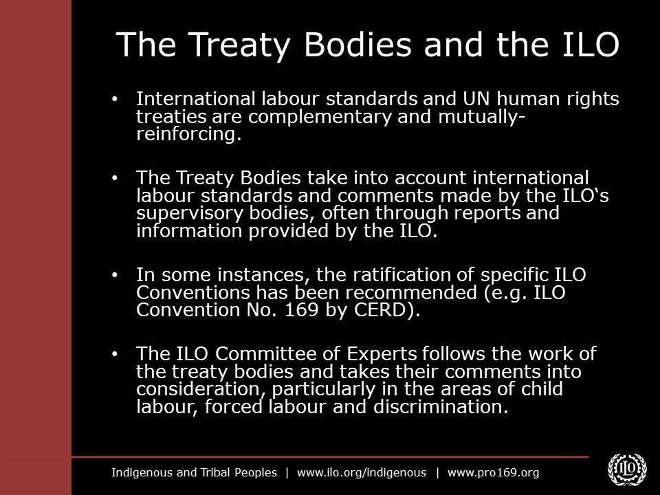 The Treaty Bodies and the ILO