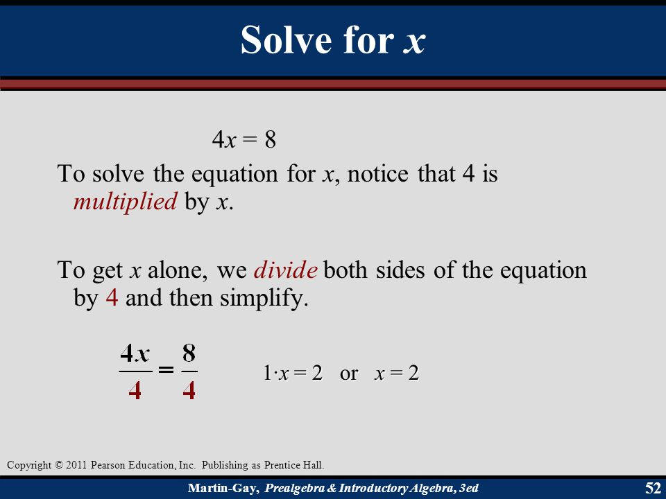 Chapter 1 / Whole Numbers and Introduction to Algebra