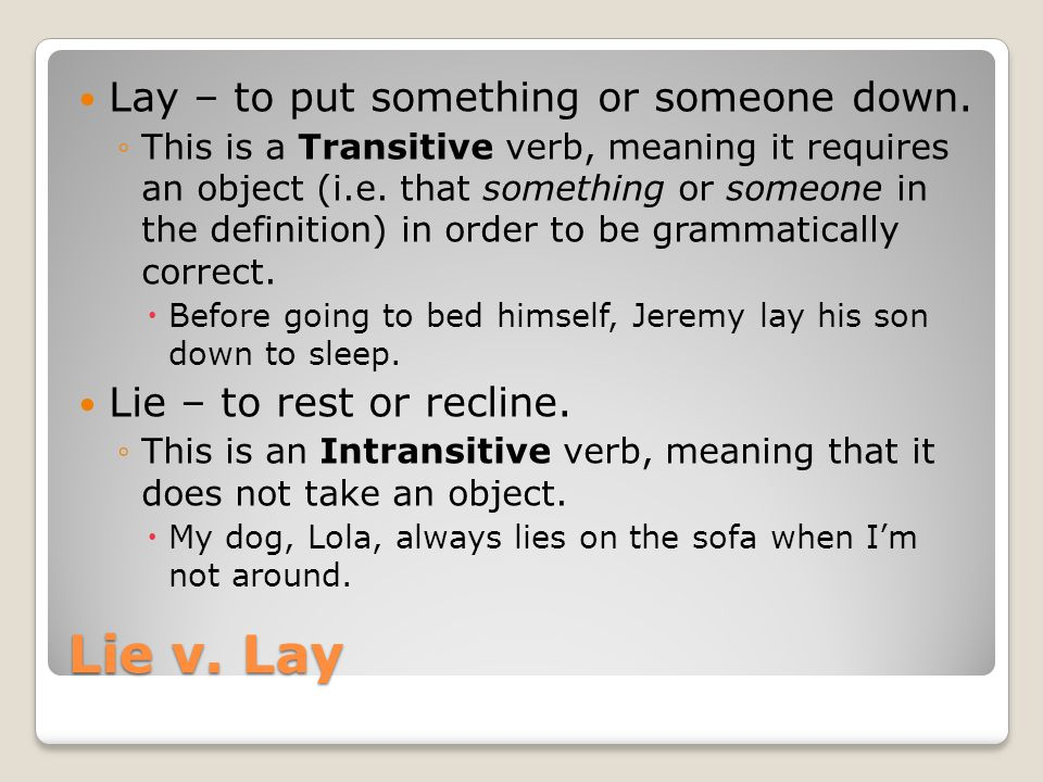 lay definition for english language learners from
