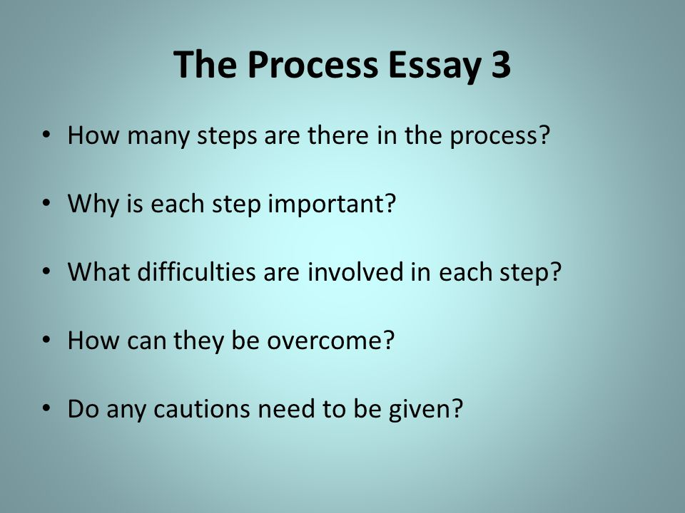 the processes involved essay Processes depend largely on the political, socioeconomic, and cultural contexts where social norms in many parts of the world result in multiple forms of.