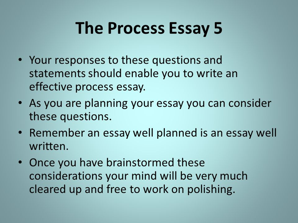 process essay on powerpoint This strategy guide explains the writing process and offers practical methods for applying examples are the essay powerpoint tutorial is a useful tool to.