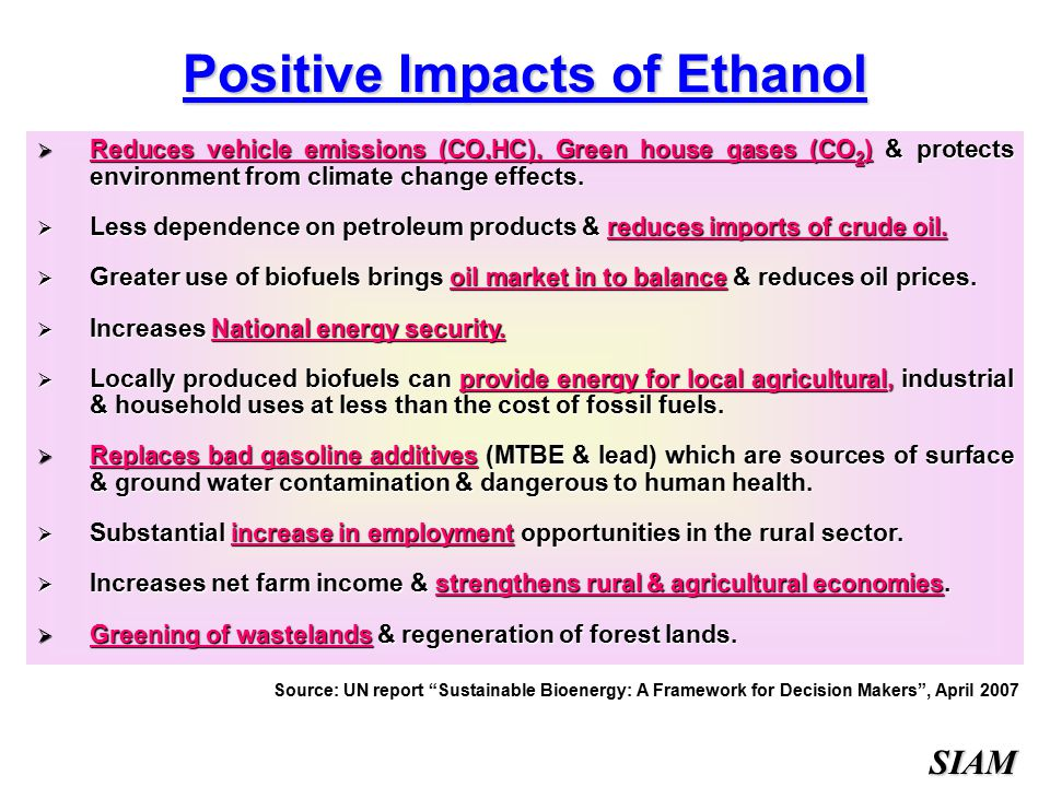 Ecological and Environmental Impacts of Bioenergy
