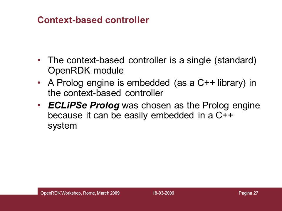 Context-based controller