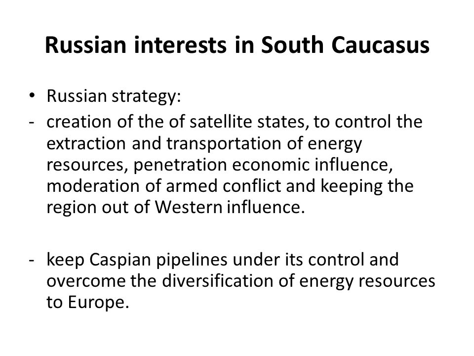 Conflict Resolution in South Caucasus Challenges to International Efforts