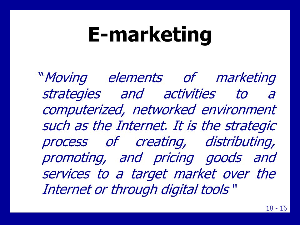 Internet Marketing or Digital Marketing
