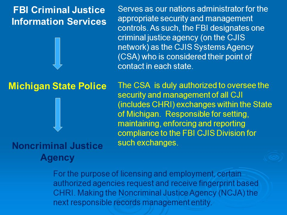 criminal justice system these agencies work