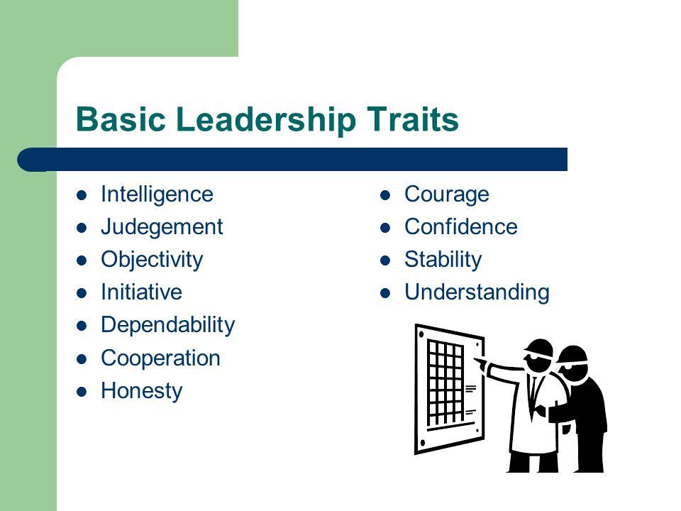 Basic Leadership Traits