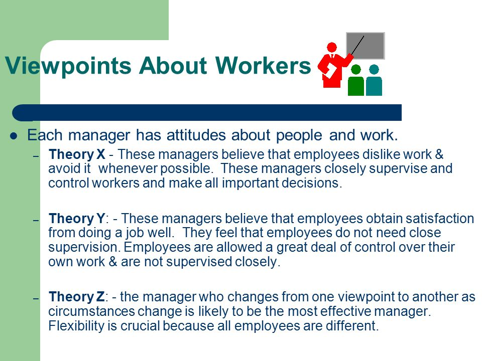 Viewpoints About Workers