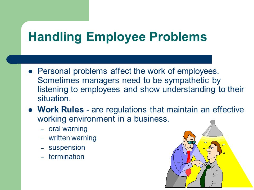 Handling Employee Problems