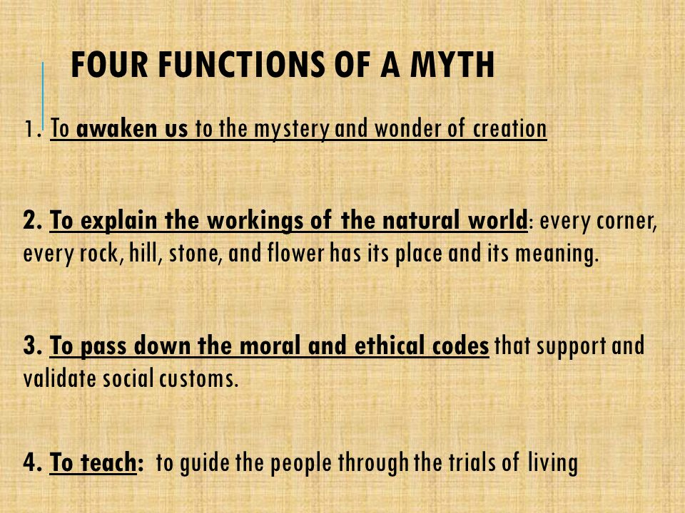 """four functions of myth 'star wars' & the four functions of mythology november 19, 2015 by scott w  smith """"i'm telling an old myth in a new way that's how you pass down the meat."""