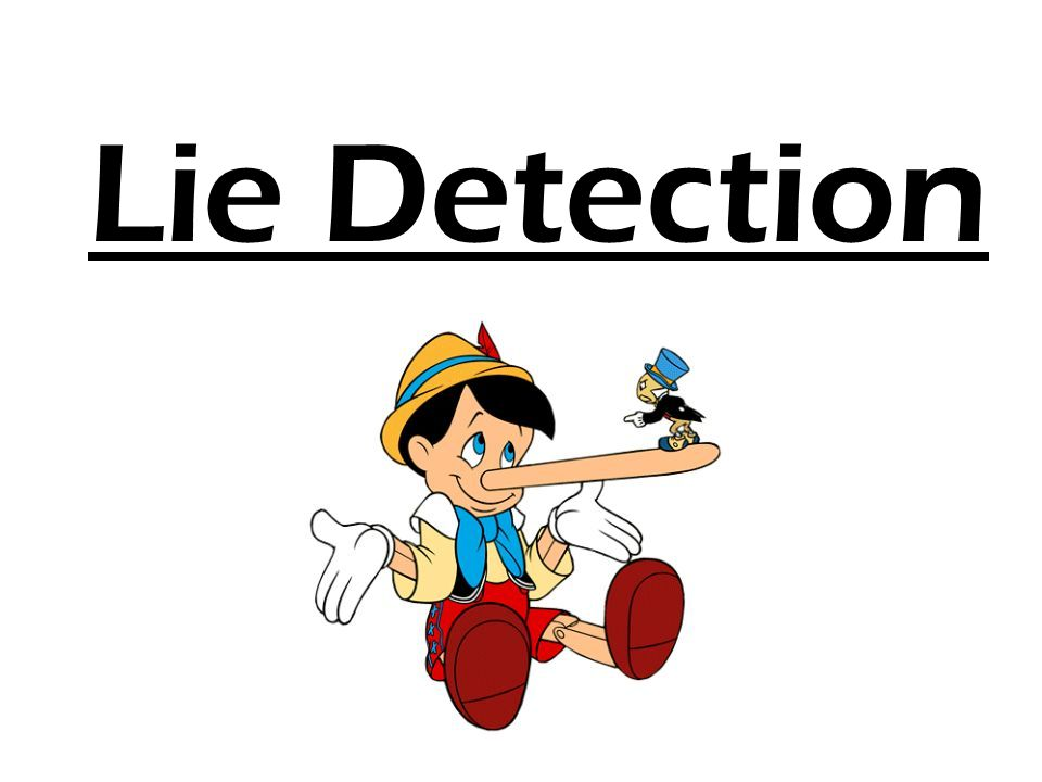 history of the lie detection In 1895, the father of modern criminology cesare lombroso, became the first person to use science as a method of detecting deception lombroso used devices called the plethysmograph and the sphygmograph the suspect wore an.