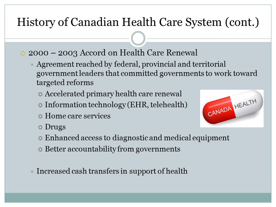 canadian health care system Canada has had a single-payer model for decades, and there's no government  takeover of its health care system in sight most services are still.