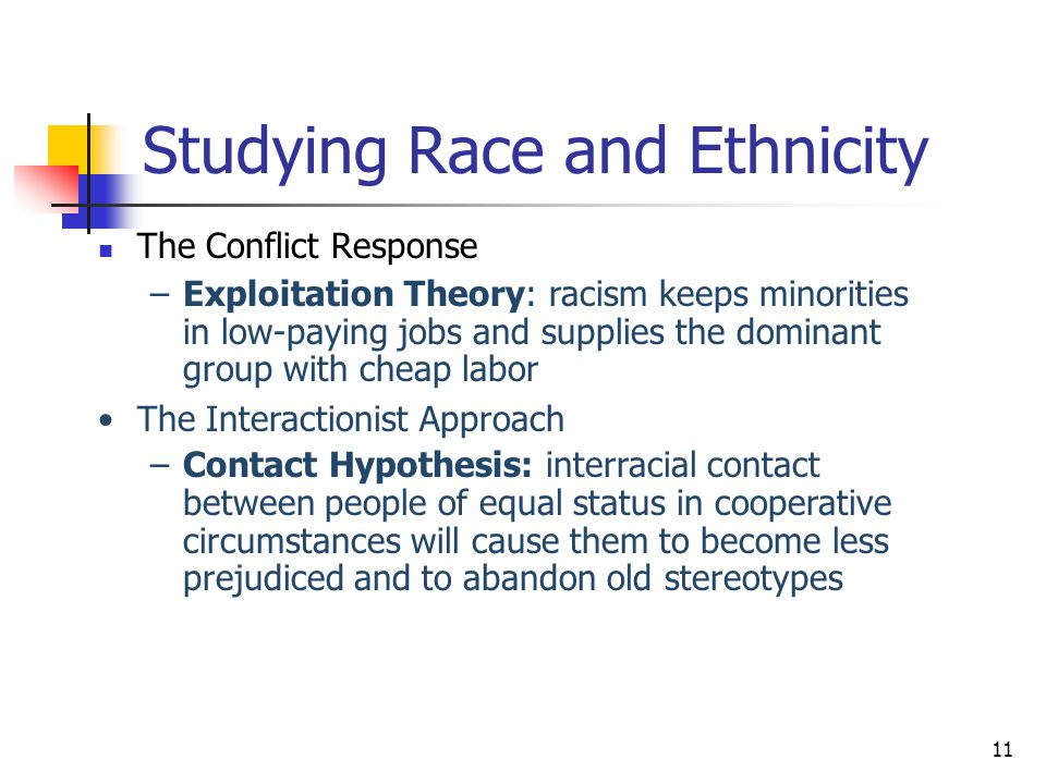 interactionist perspective racism Each of the three major theoretical perspectives  there are a number of health disparities created by racism  the interactionist perspective is concerned.