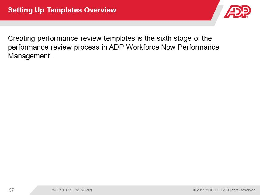 Setting Up Templates Overview