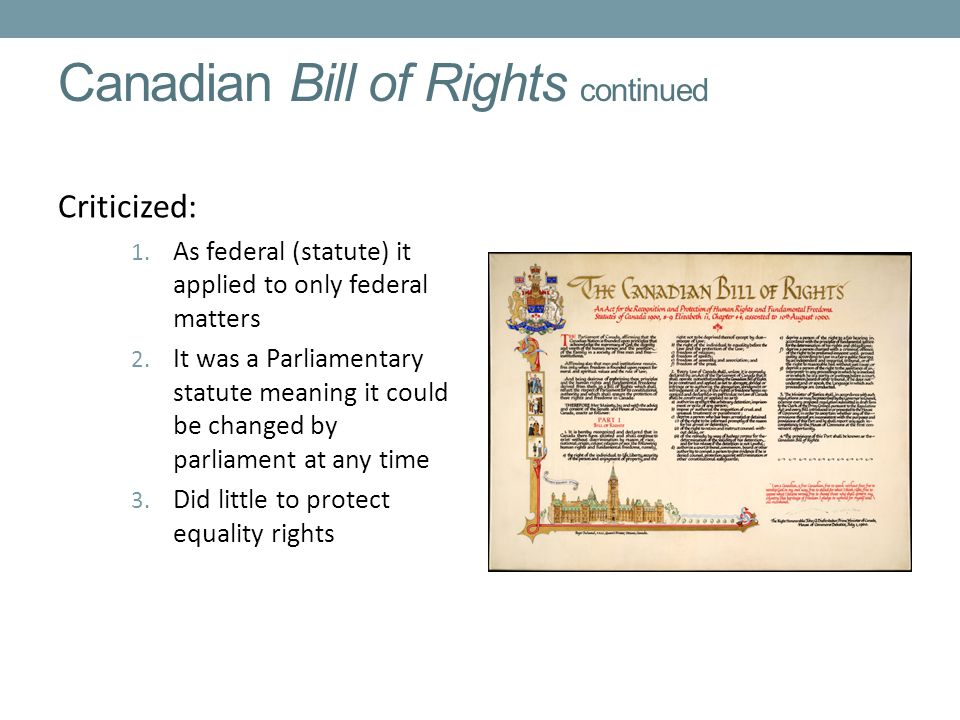 canadian bill of rights and freedoms pdf