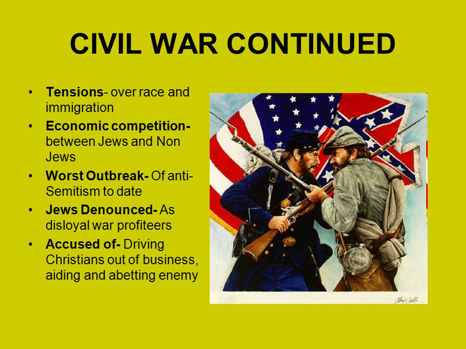 a history of the immigration in united states after civil war The role of the new industrial age: after the civil war in the history of the united states of america.