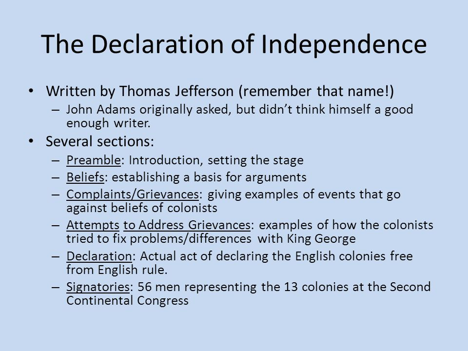 King George III in the Declaration of Independence Essay Sample