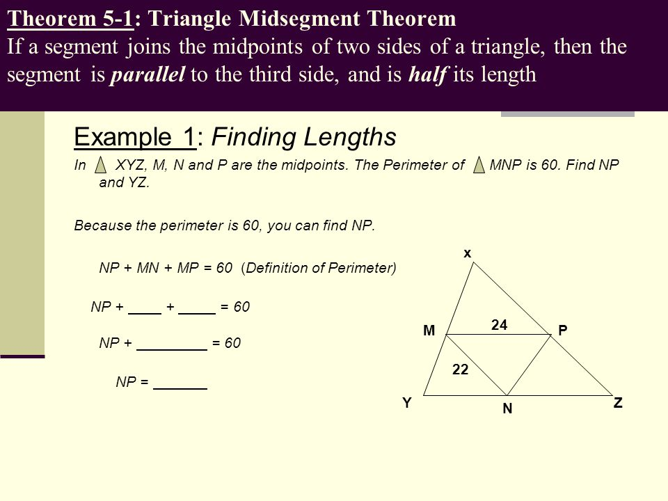 Example 1: Finding Lengths