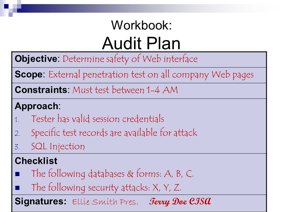 audit program design part i Chapter 13 overall audit plan and audit program presentation outline application of audit testing selecting tests to perform design of the audit program a summary of the audit process i application of audit testing tests of controls testing for monetary misstatement reduction of risk audit assurance at different levels of internal control effectiveness simultaneous testing of controls and .