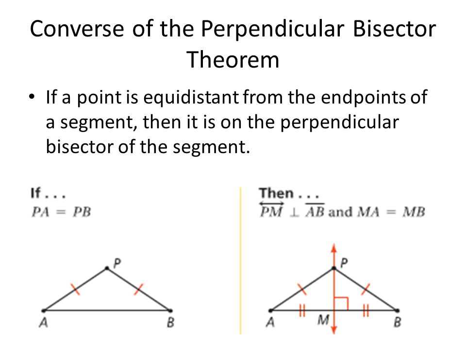 5 2 Perpendicular And Angle Bisectors Ppt Video Online Download