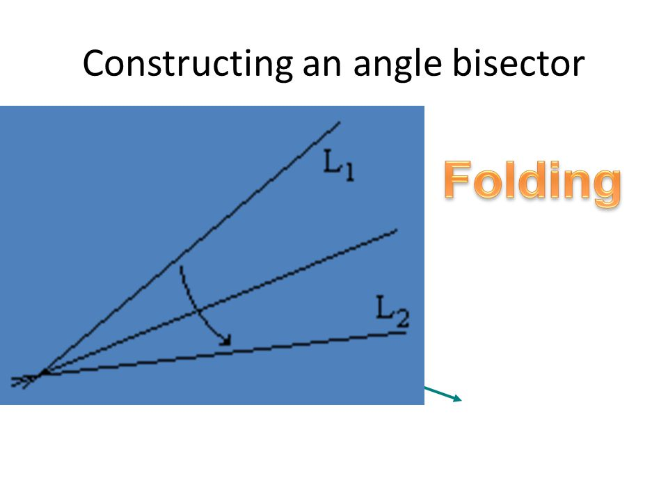 angle bisector construction - photo #35