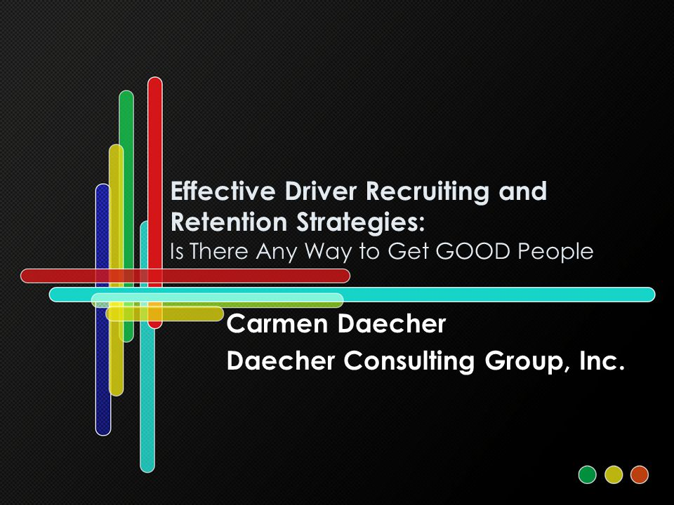 Carmen Daecher Daecher Consulting Group, Inc. - ppt download