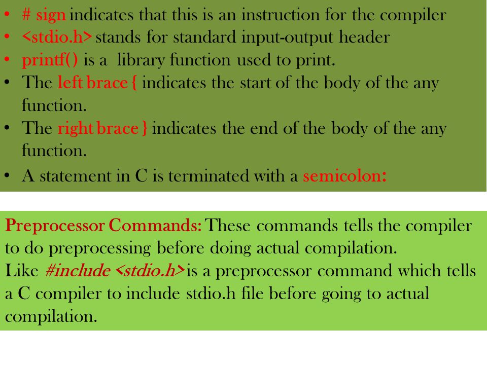 Chapter 1 Intorduction To C Language Ppt Download