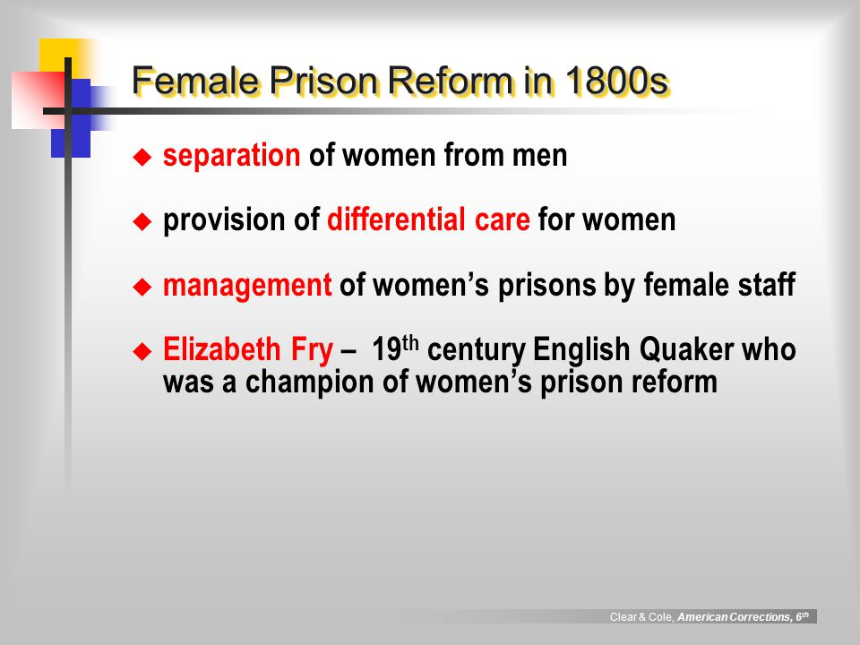 women prisons before the 1800 Spanish colonization and californios, 1769-1800s  farms, factories, and prisons, often operated in conjunction with a nearby military presidio and agricultural.