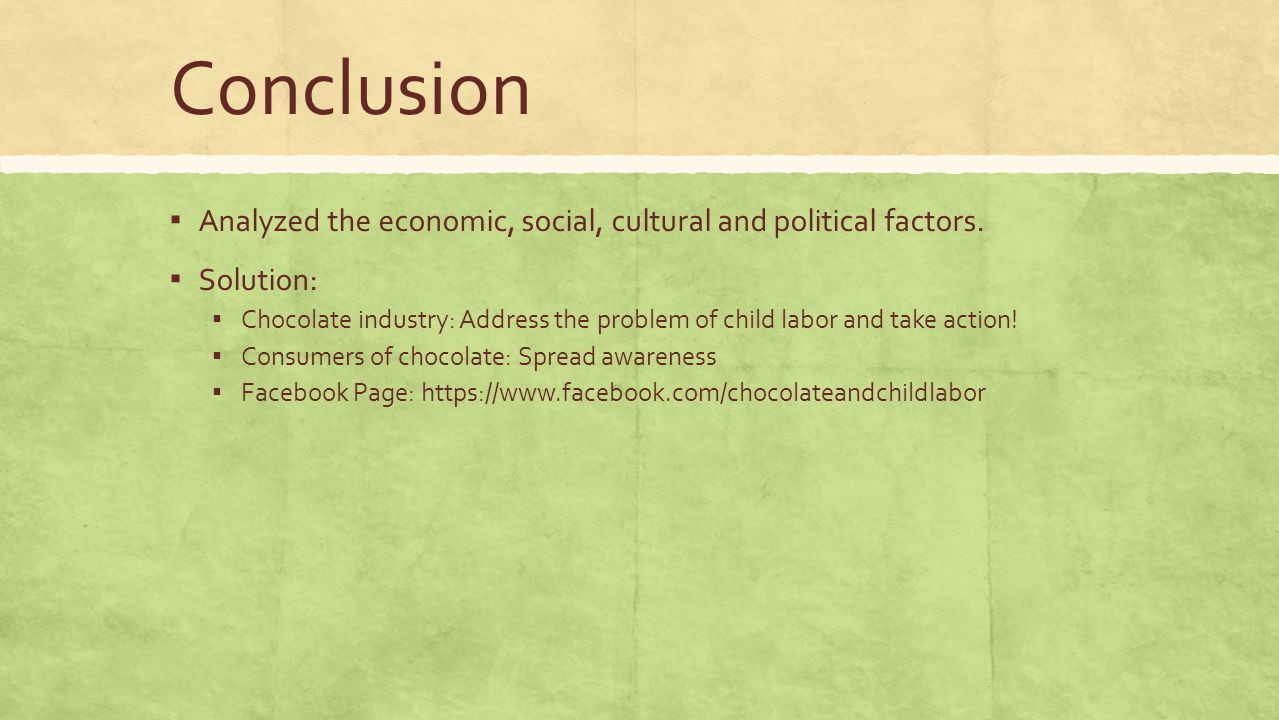 conclusion of social problem Social problems are the issues that directly or indirectly affect the majority or all the members of a society social problems affect the fabric of the community and .