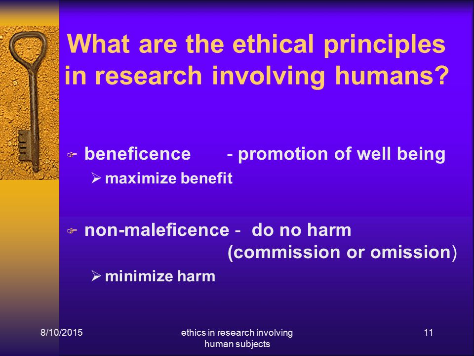 there are no ethical principles in Are there universal ethical principles that do in fact govern the conduct of medicine and research, the answer is no (rival question) i a cultural anthropologist, .