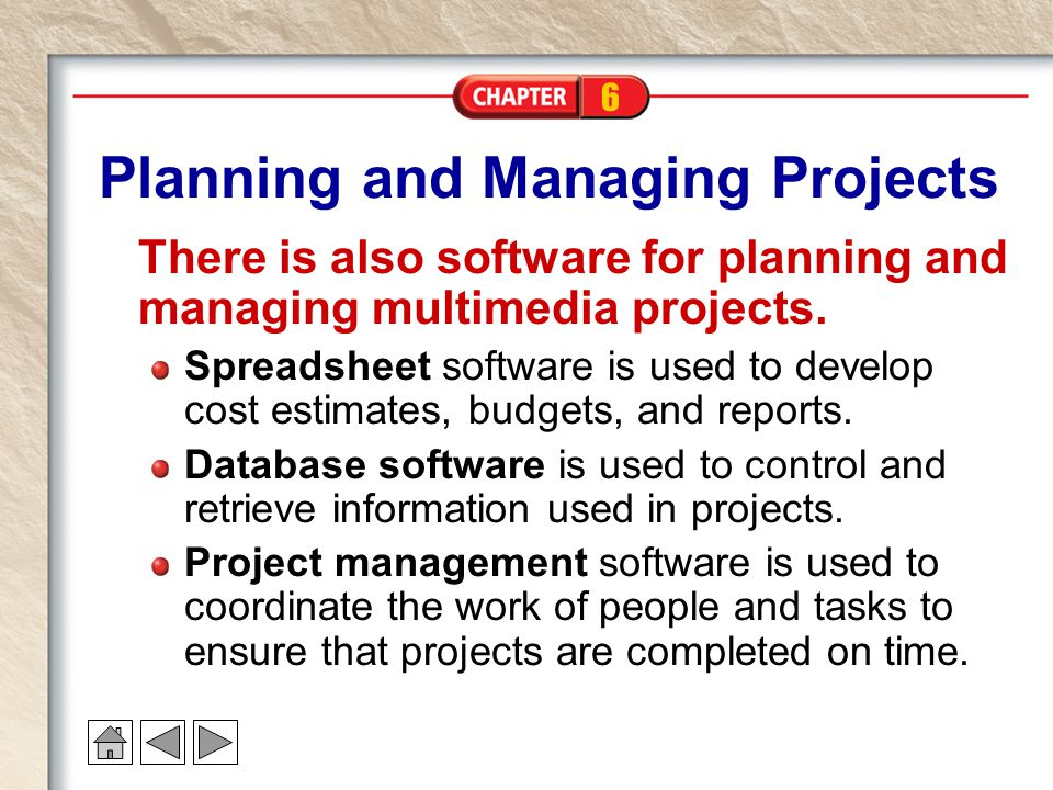 Planning and Managing Projects