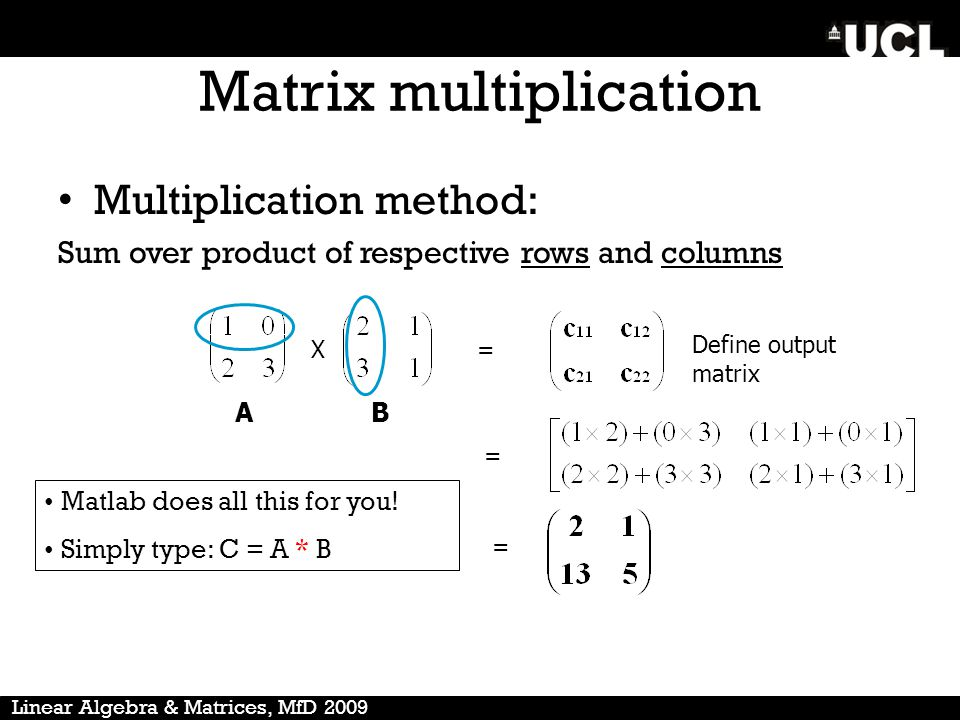 how to create nxn matrix in matlab